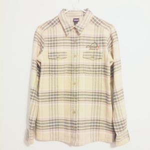 Patagonia Fjord 100% Organic Cotton Flannel Shirt